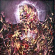 INCANDESCENT LEGACY OF AN UNKNOW ARCHANGEL -  framed oil on canvas - 28 x 44 inches -PRIVATE COLLECTION CANADA